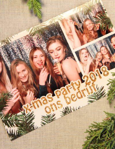 bedrijfsfeest kerst fotobooth