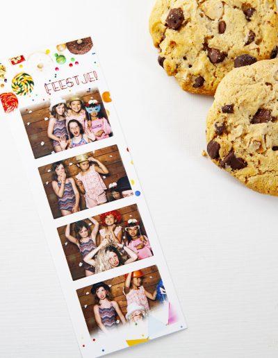 kinderfeestje en koekjes